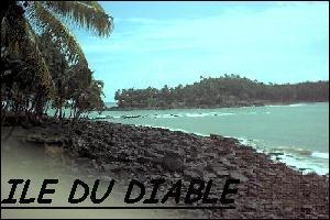Où est située l'île du Diable ?