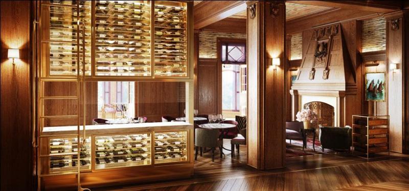 Voici le magnifique restaurant. De quel illustre personnage de la Nouvelle-France ledit restaurant porte-t-il le nom ?