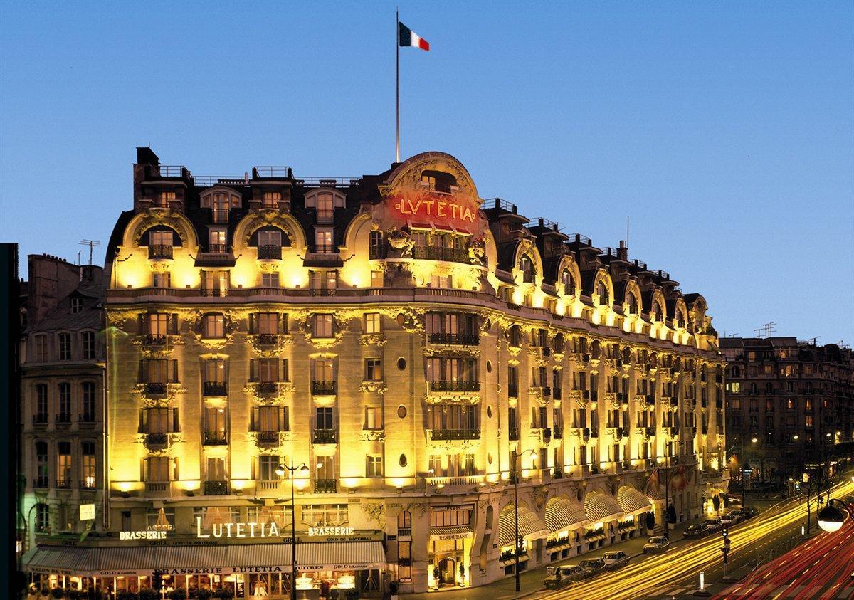 Les grands hôtels (2) : Le Lutetia (avant les rénovations)