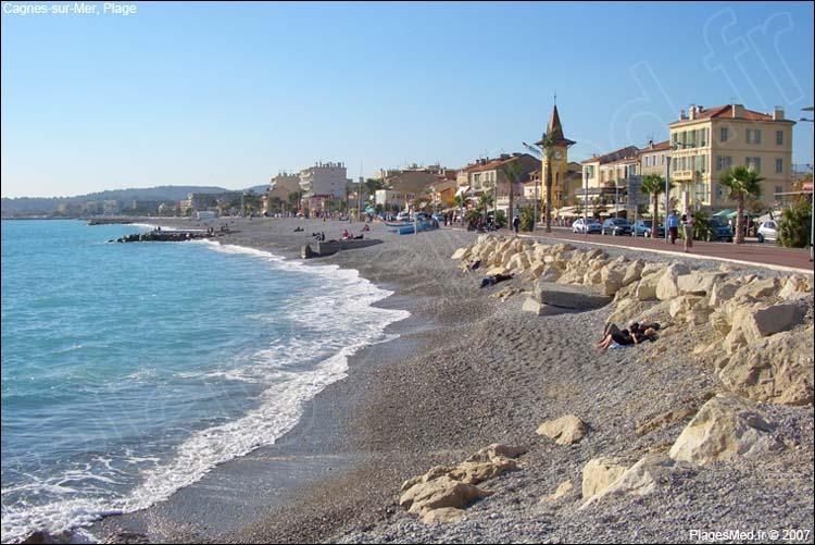 Station balnéaire de la Côte d'Azur où Auguste Renoir a vécu et qu'il a représenté souvent dans ses toiles, elle est située entre Cannes et Nice :