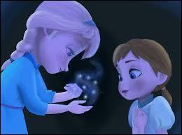 À cause de qui Anna a-t-elle eu le cœur gelé ?