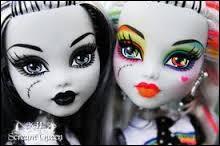 Les Monster High sont :