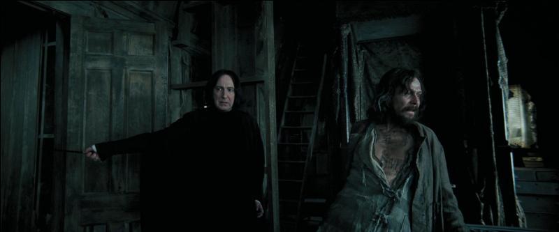"""Pour quelle raison Severus Rogue est-il passé tout près de recevoir la récompense de l'Ordre de Merlin (Première Classe) par le Ministère de la Magie dans le film """"Harry Potter et le Prisonnier d'Azkaban"""" ?"""