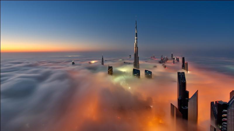 Quel est le plus haut gratte-ciel du monde avec ses 828 m ?