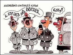Actuellement en France, vous commettez un délit si vous conduisez votre véhicule avec un taux d'alcool pur dans le sang égal ou supérieur à ...