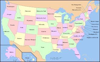 Je vous propose une question de géographie : Laquelle de ces villes est située à l'ouest des États-Unis ?