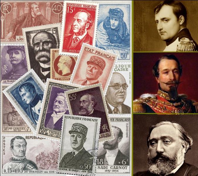 Le premier timbre postal est apparu en Grande-Bretagne en 1840. En France il fut émis le 1er janvier 1849. Mais quel fut le personnage historique français à avoir le premier son effigie sur ce petit carré de papier ?