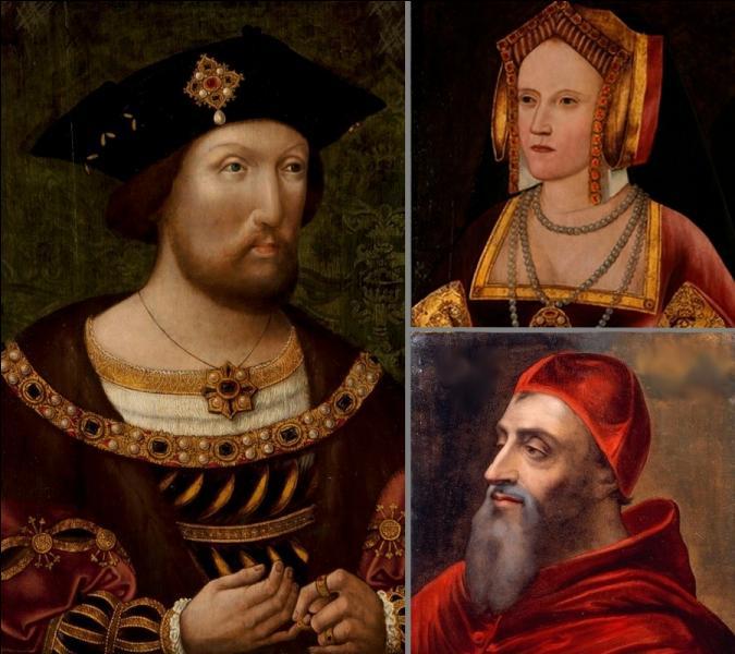 Peu préoccupé par la théologie, ce pape en refusant le divorce d'Henri VIII avec Catherine d'Aragon fut la cause de la fondation de l'Eglise anglicane en 1533...