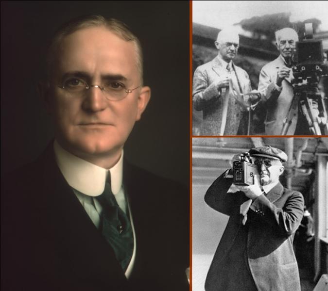 Fondateur de la firme Kodak en 1881, quelle réalisation l'américain Georges Eastman est-il le premier a mettre sur le marché en 1885 ?