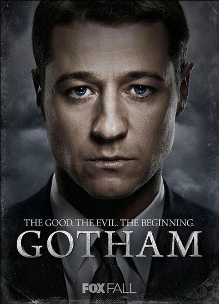 Depuis le 22 septembre 2014, il partage l'affiche de la série télévisée « Gotham » avec Donal Logue et Sean Pertwee. Quel est ce rôle ?