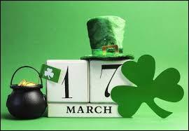 À laquelle de ces fêtes associe-t-on la couleur verte ?