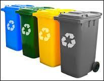 Que doit-on mettre dans une poubelle verte pour le tri sélectif ?