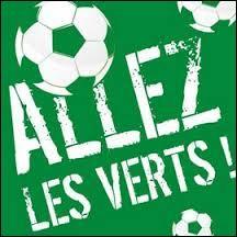 """Dans quelle ville française trouve-t-on l'équipe de football surnommée """"Les Verts"""" ?"""