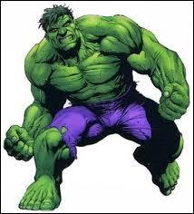 Quel personnage de l'univers Marvel Comics est tout vert ?