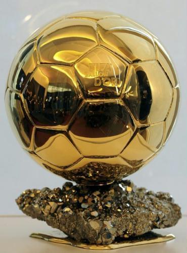 Les 'Ballons d'or' de football