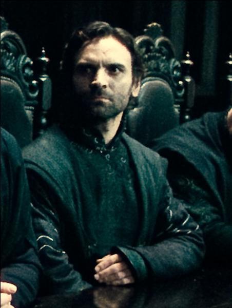 Antonin Dolohov. Mangemort très actif, il a participé à la Première Guerre des Sorciers, tué Remus Lupin lors de la Bataille de Poudlard avant d'être vaincu par Filius Flitwick. Lors de la Première Guerre des Sorciers, quelle famille de sorciers assassine-t-il ?