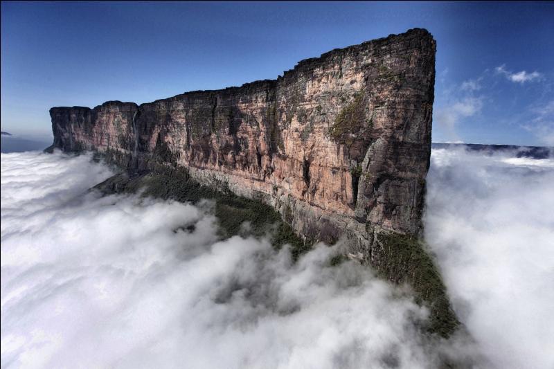 Sur quel continent peut-on admirer le Mont Roraima ?