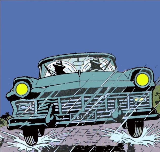 Quelle est la marque de la voiture des gangsters ?