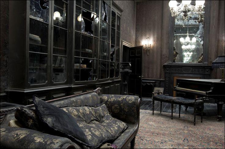Lorsque le 12, Square Grimmaurd est investi par les alliés de Sirius Black, la demeure est dans un état déplorable. Molly Weasley sollicite l'aide de ses enfants pour faire le ménage. Sur quelles créatures vont-ils notamment tomber ?