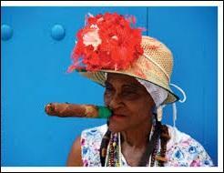 Au regard de ce que fume cette dame, vous avez sans doute trouvé le pays. Sa capitale est donc ...