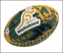 Observez bien ce ballon ovale, grâce à ses couleurs et à l'emblème y figurant, vous trouverez la sélection nationale de rugby qui correspond. Du coup, la capitale à citer sera :