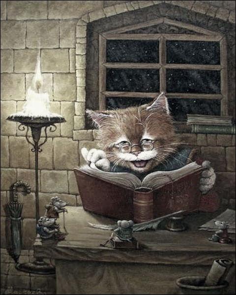 """Dans quelle fable de La Fontaine apparaît le chat """"Raminagrobis"""" ?"""