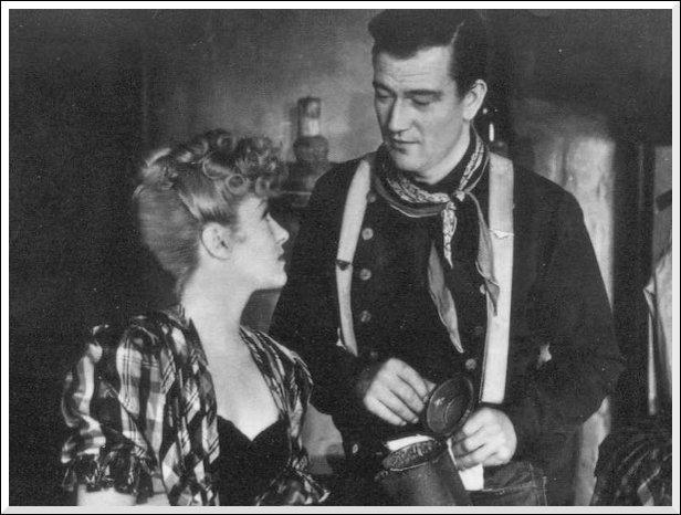Dans quel western John Wayne et Claire Trévor apparaissent-ils en 1939 ?