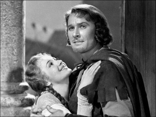 Dans quel film de 1938 Errol Flynn et Olivia de Havilland défient-ils le pouvoir royal ?