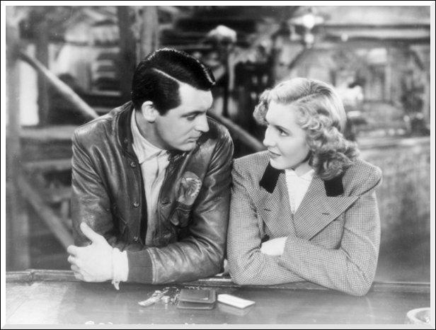 Dans quel film Jean Arthur rencontre-t-elle Cary Grant, pilote dans la cordillère des Andes ?