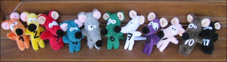 De quelle couleur est la souris dans une célèbre comptine ?