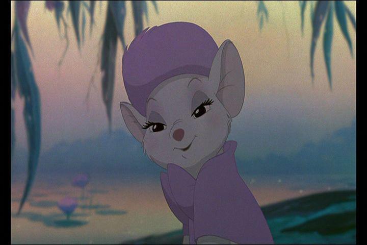 Comment s'appelle cette petite souris, amie de Bernard ?