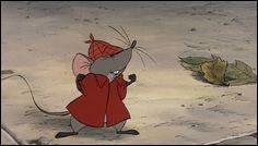 """Quel est le prénom de cette souris, présente dans le dessin animé """"Les Aristochats"""" ?"""
