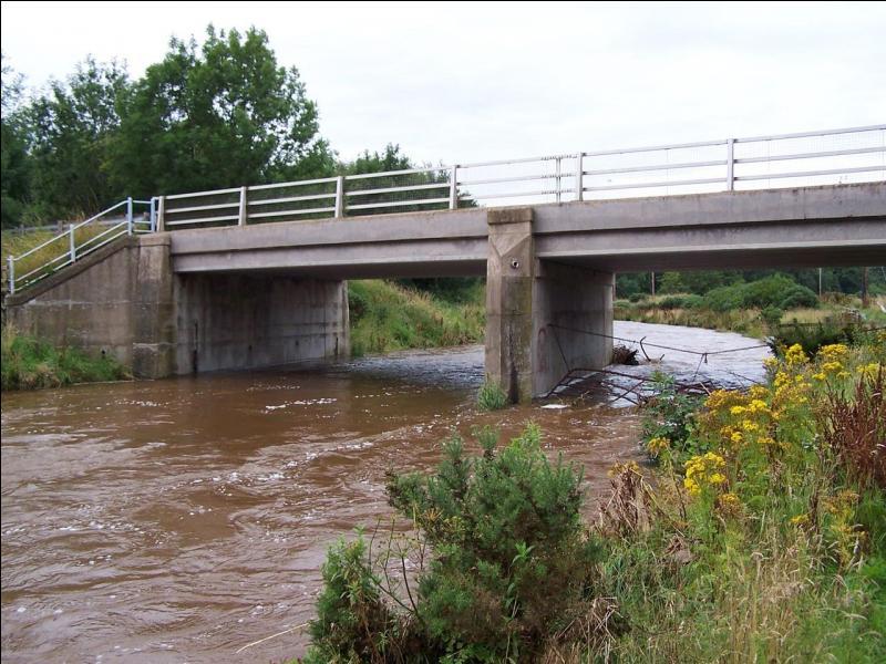 Eye Water est une rivière des Scottish Borders :