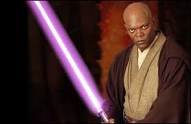 """Dans la saga """"Star Wars"""", comment s'appelle le seul Jedi possédant un sabre laser violet ?"""