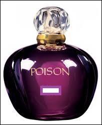 """Quelle est la marque de ce parfum appelé """"Poison"""" ?"""