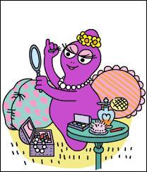 """Dans la série """"Barbapapa"""", comment s'appelle la fille de couleur violette ?"""