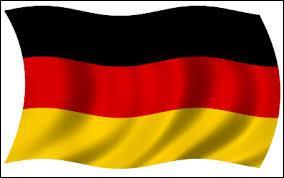Après, j'ai écrit mon texte en allemand pour une présentation de projet écologique. La femme enseignant l'allemand ... très gentille.