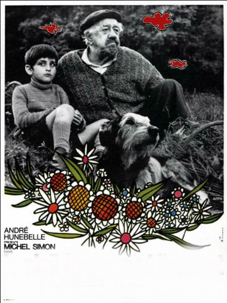 Quel est ce film de Claude Berri dans lequel jouent Michel Simon et Alain Cohen ?