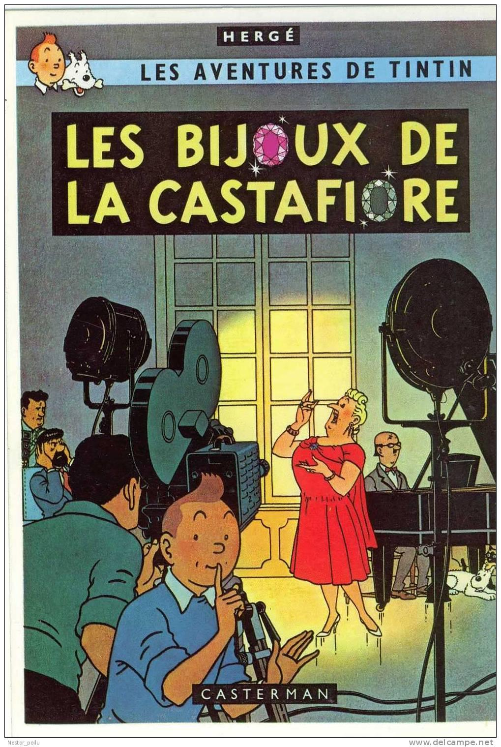 Tintin - « Les bijoux de la Castafiore »