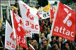 En juin 1998 est créée en France l'association altermondialiste ATTAC, qui signifie Appel aux Terroirs et au Triomphe Actif du Civisme.