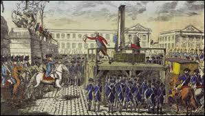 Louis XVI a été exécuté le 21 janvier 1793.