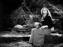 Jennifer Jones reçut un oscar en 1943 pour son interprétation d'une sainte qui gardait des moutons.