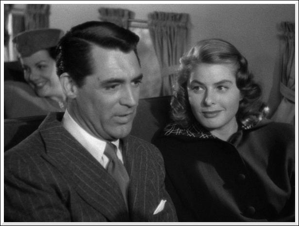 Dans quel film de 1946 Ingrid Bergman est-elle une allemande au service des américains ?