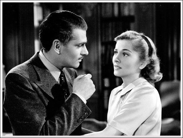 Quel film a remporté l'Oscar en 1941 avec Laurence Olivier et Joan Fontaine ?