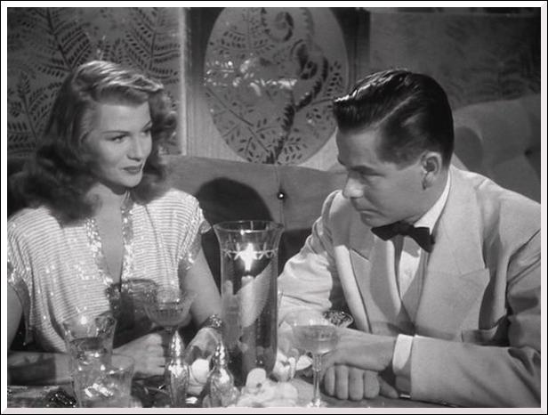 Qui est Rita Hayworth en 1946 avec Glenn Ford ?
