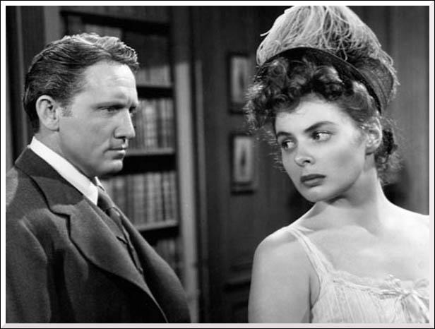 Quel film tiré de l'œuvre de Robert Louis Stevenson réunit Spencer Tracy et Ingrid Bergman ?