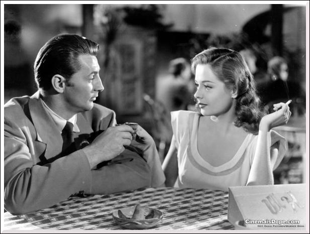 """Dans """"La griffe du passé"""" en 1947, qui sont les partenaires de Jane Greer ?"""
