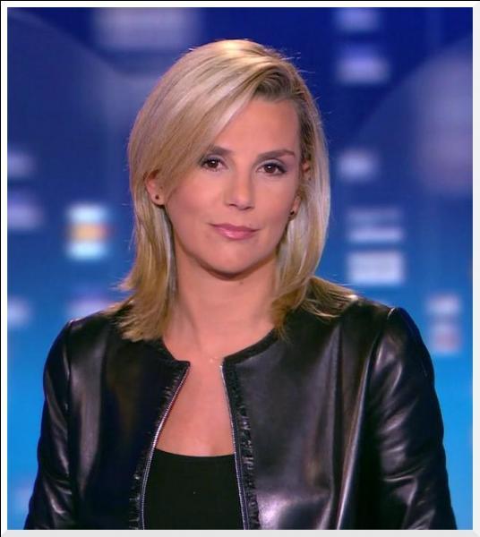 A la fois journaliste et animatrice, j'ai présenté le journal du 20h sur TF1 jusqu'à fin mai 2012. Mon père est un homme politique. Qui suis-je ?
