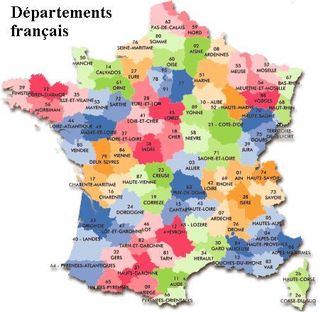 Un département français, un synonyme, un numéro ! 2