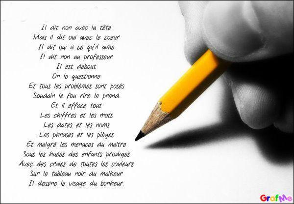 """Né un 4 février, grand poète et homme de """"Paroles"""" :"""